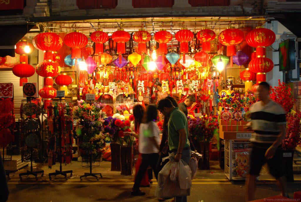 Chińskie święto latarni. Źródło: Co kraj, to obyczaj