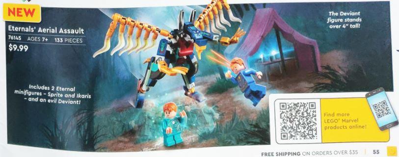 LEGO® 76145 - Eternals' Aerial Assault