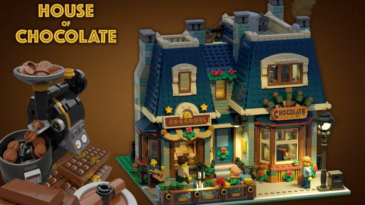 Lego IDEAS - The House of Chocolate