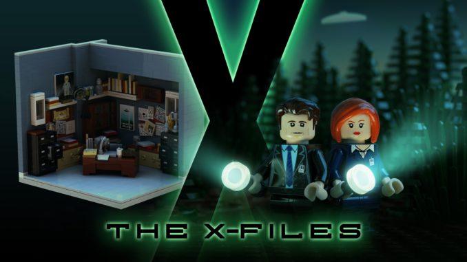 Lego IDEAS - the X-files