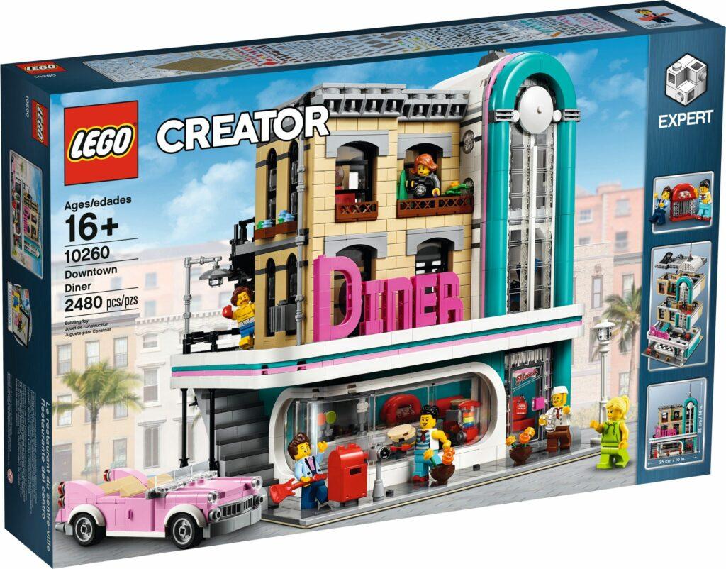 LEGO® 10260 - Bistro w śródmieściu