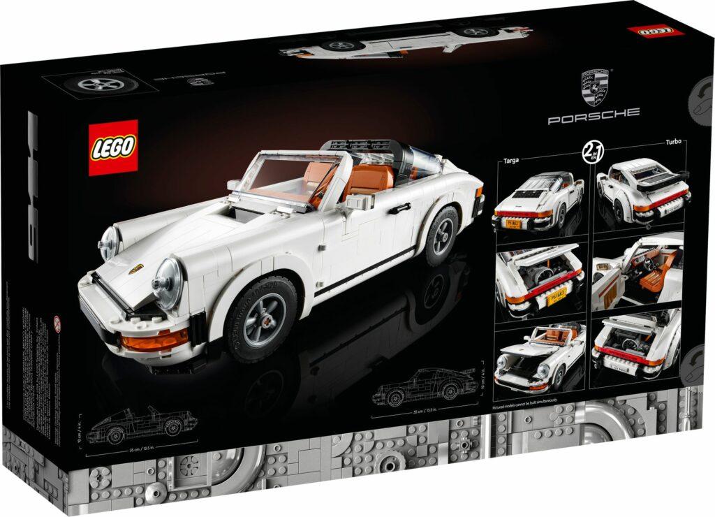 LEGO® 10295 - tył opakowania