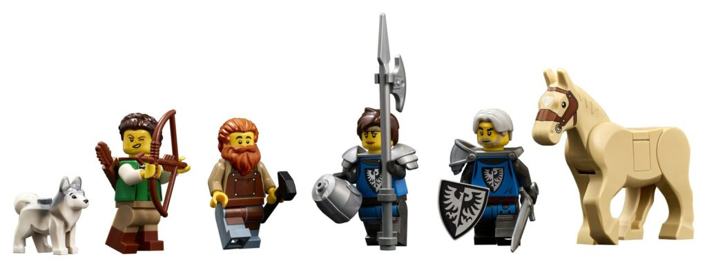 LEGO® 21325 - minifigurki