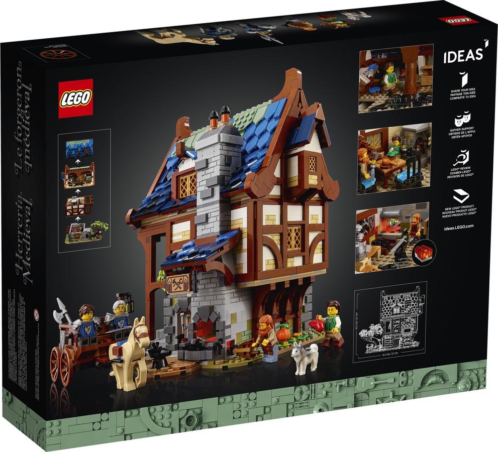 LEGO® 21325 - tył pudełka