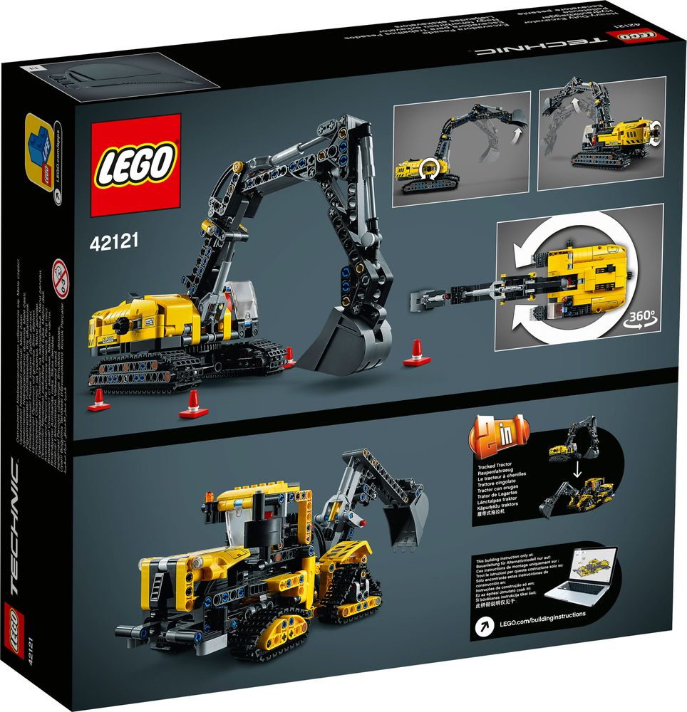 LEGO® 42121 - tył opakowania