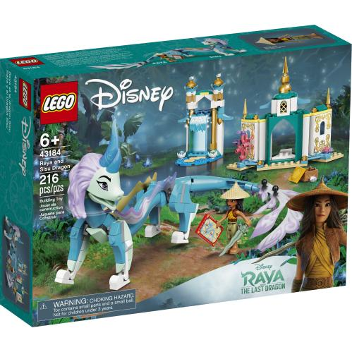 LEGO® 43184 - Raya and the Sisu Dragon