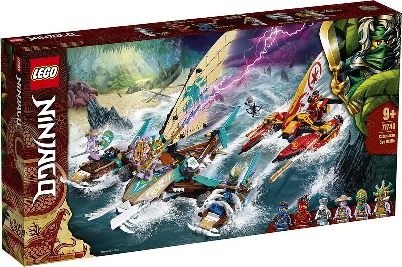 LEGO® 71748 - Catamaran Sea Battle