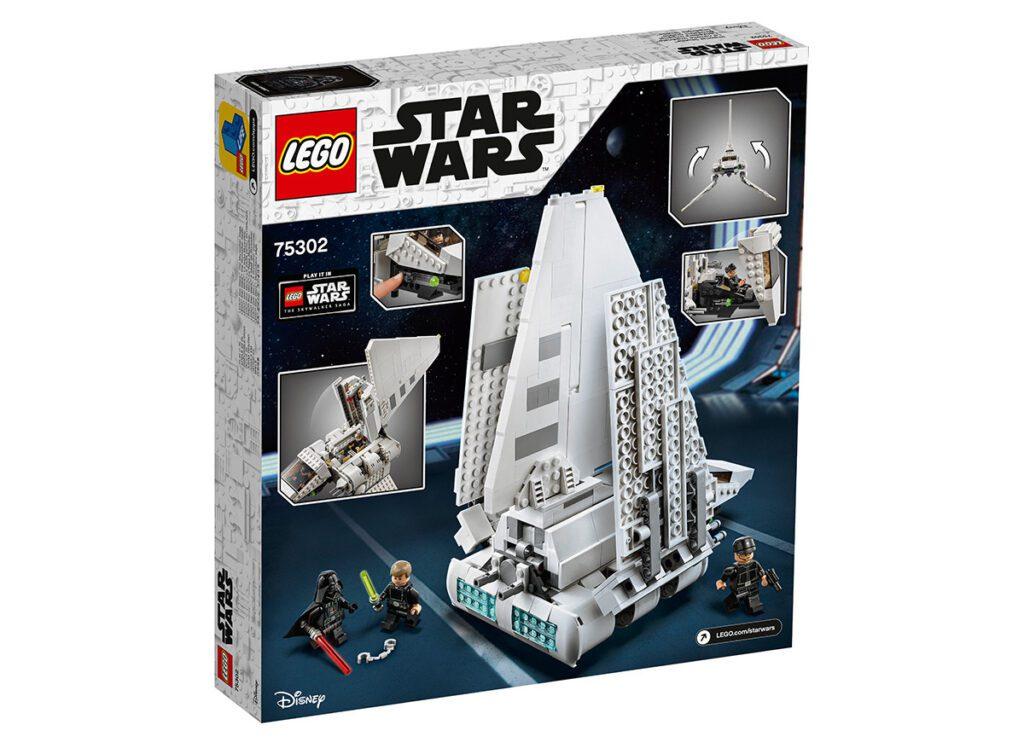 LEGO® 75302 - tył pudełka