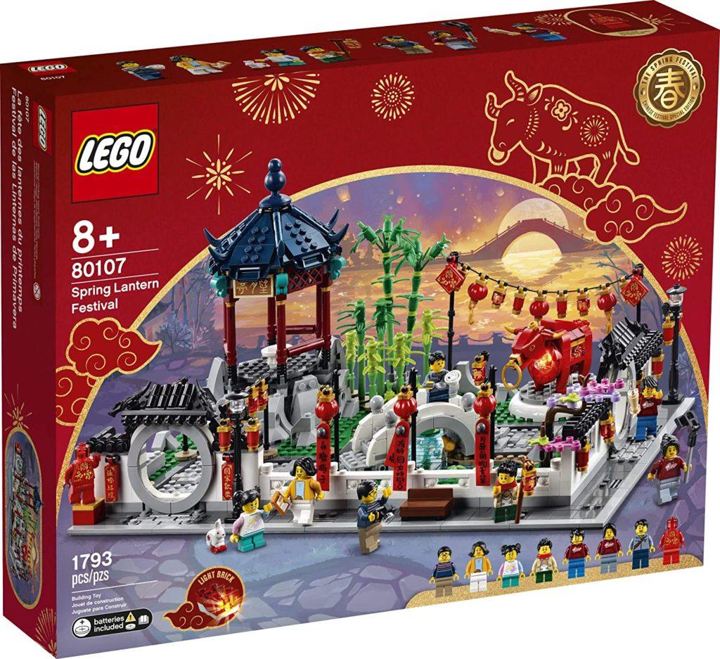 LEGO 80107 - Chińskie święto latarni