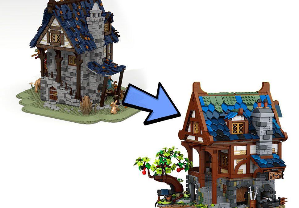 LEGO IDEAS - Średniowieczna Kuźnia