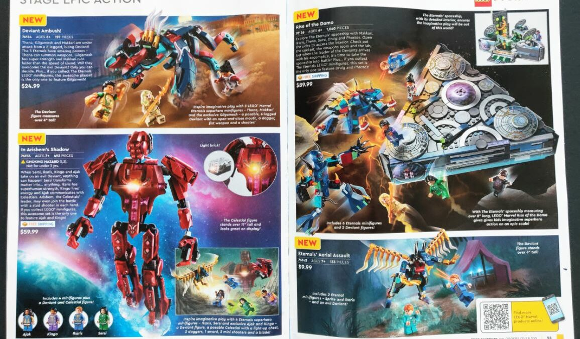 LEGO Marvel Eternals - katalog USA