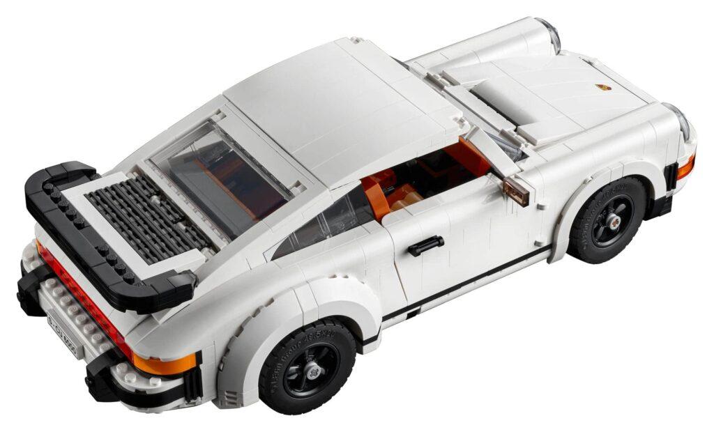 LEGO® Porsche 911 Turbo - widok z góry
