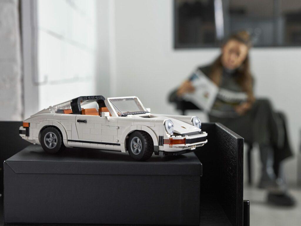 LEGO® Porsche 911 Turbo - zdjęcie dające pojęcie o wymiarach