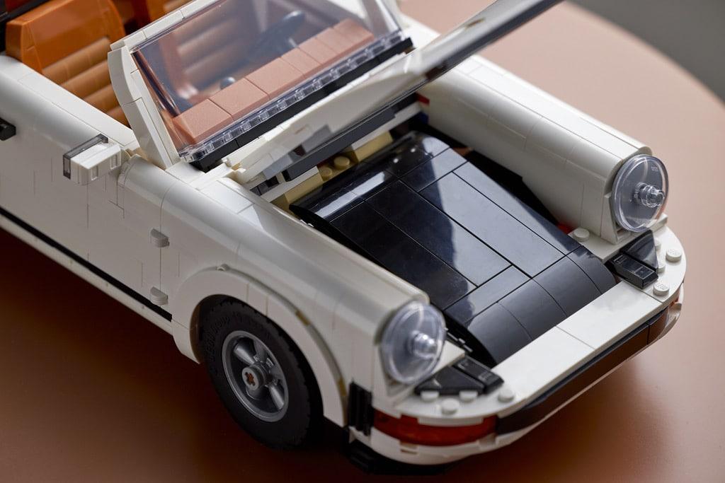 LEGO® Porsche 911 - złożony dach wersji Targa