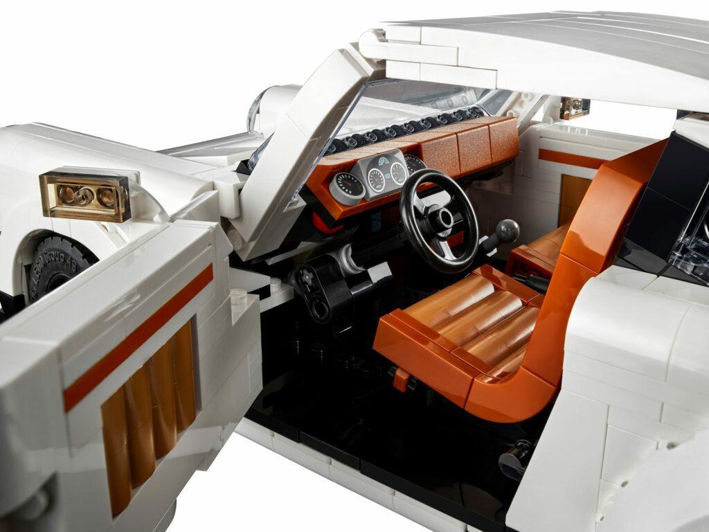 LEGO® Porsche 911 - wnętrze