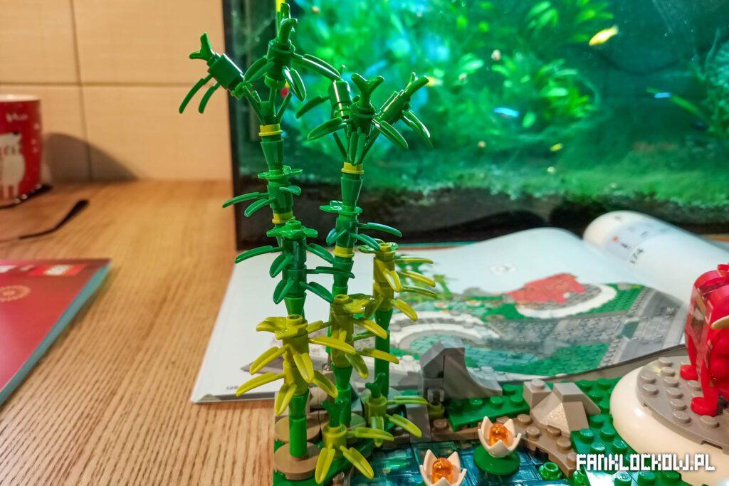 LEGO Święto latarni - bambusy