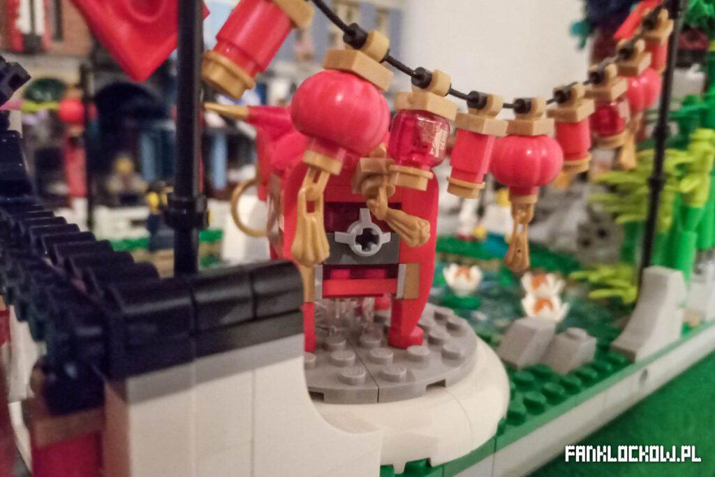 LEGO Święto latarni - tyłek byka