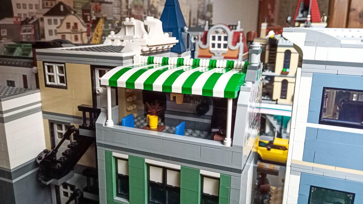 LEGO - markiza w Placu zgromadzeń