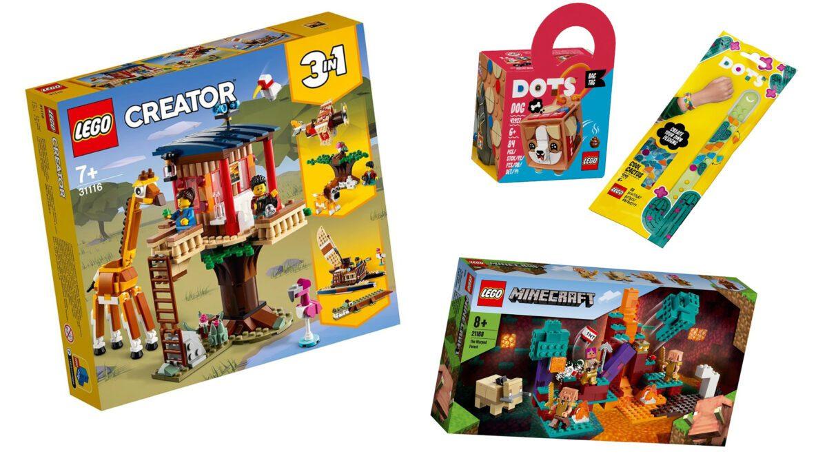 LEGO® - nowe pudełka - 21.01.2020