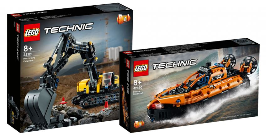 Lego® Technic - nowe zestawy 03.2021