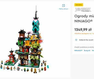 Ogrody Ninjago na LEGO.pl
