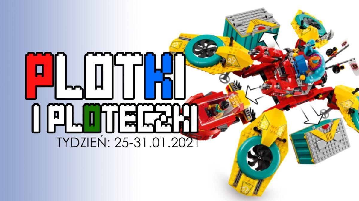LEGO plotki i ploteczki 25-31.01.2020