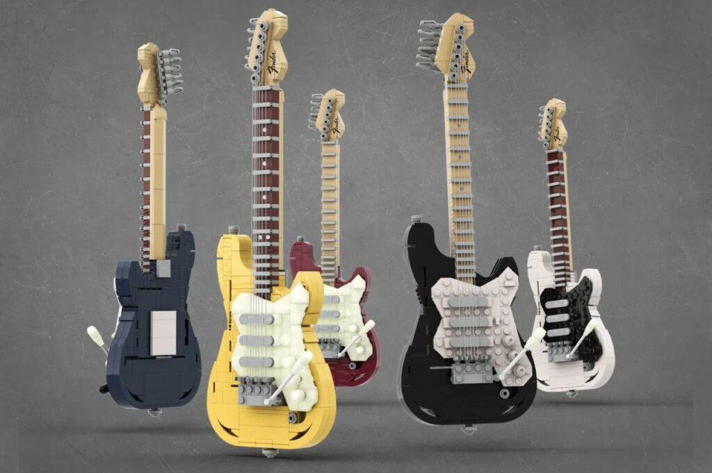 IDEAS - Legendary Stratocaster