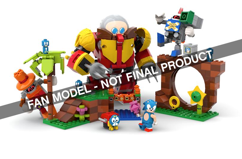 LEGO® IDEAS - Sonic Mania: Green Hill Zone