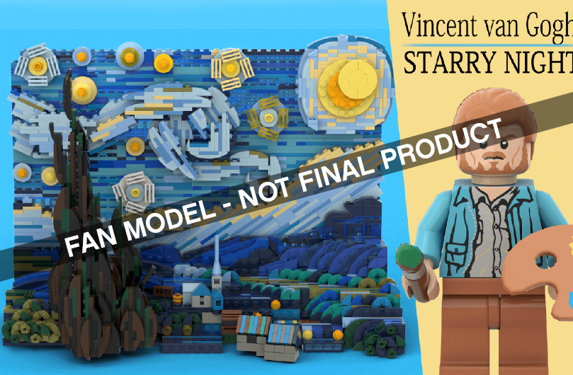 LEGO® IDEAS - Vincent van Gogh: Starry Night