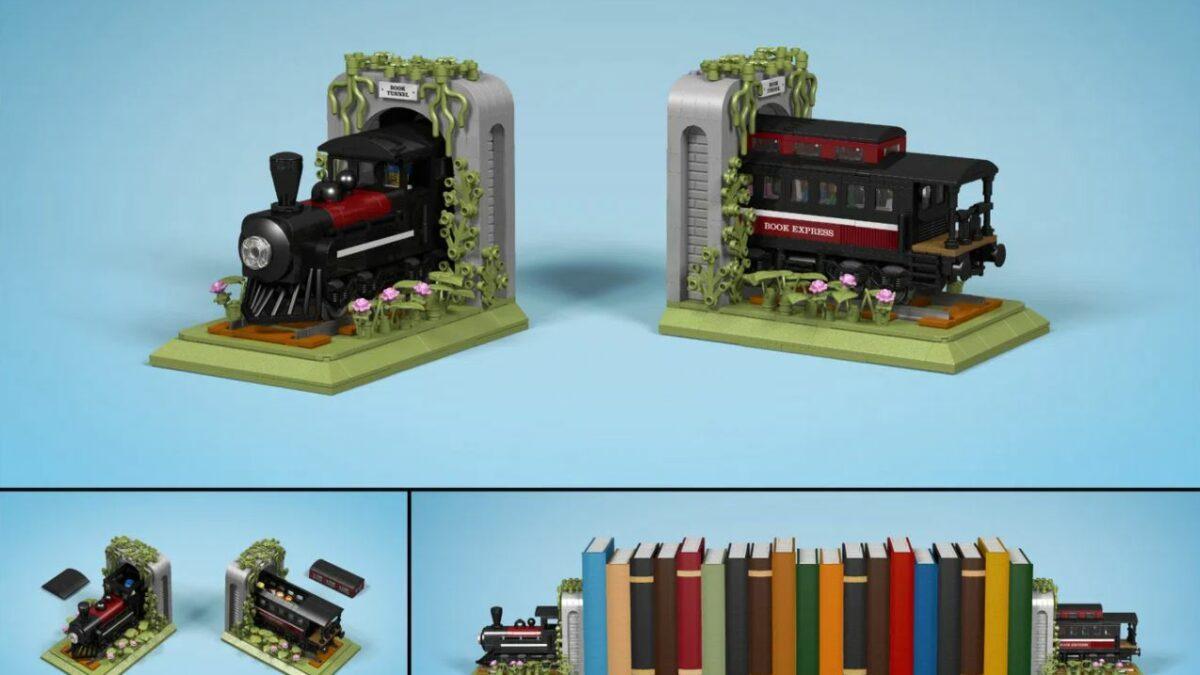 IDEAS - Train Bookends