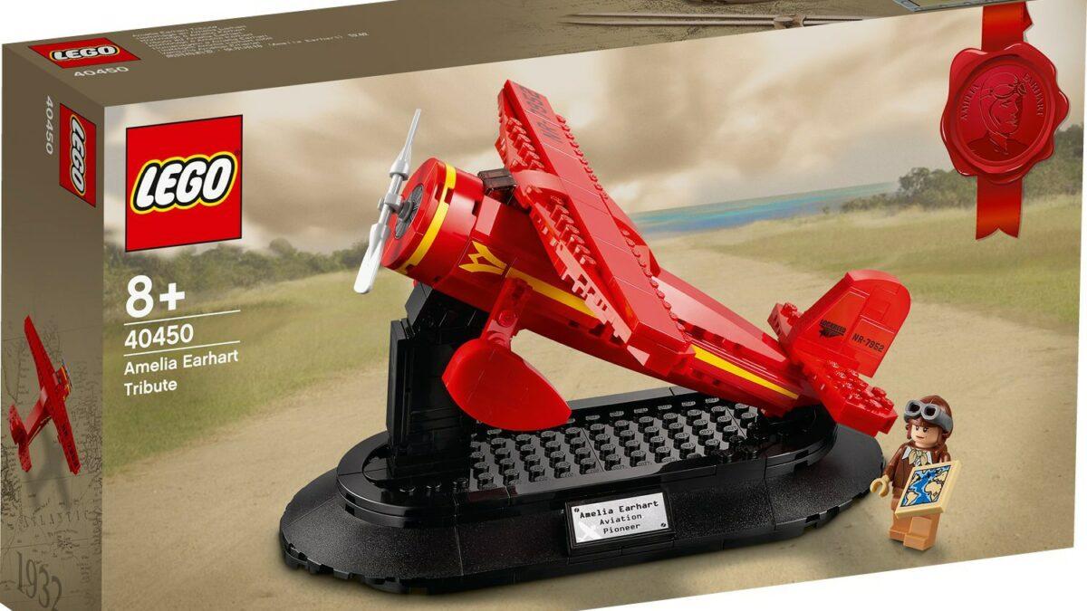 LEGO 40450 Hołd dla Amelii Earhart