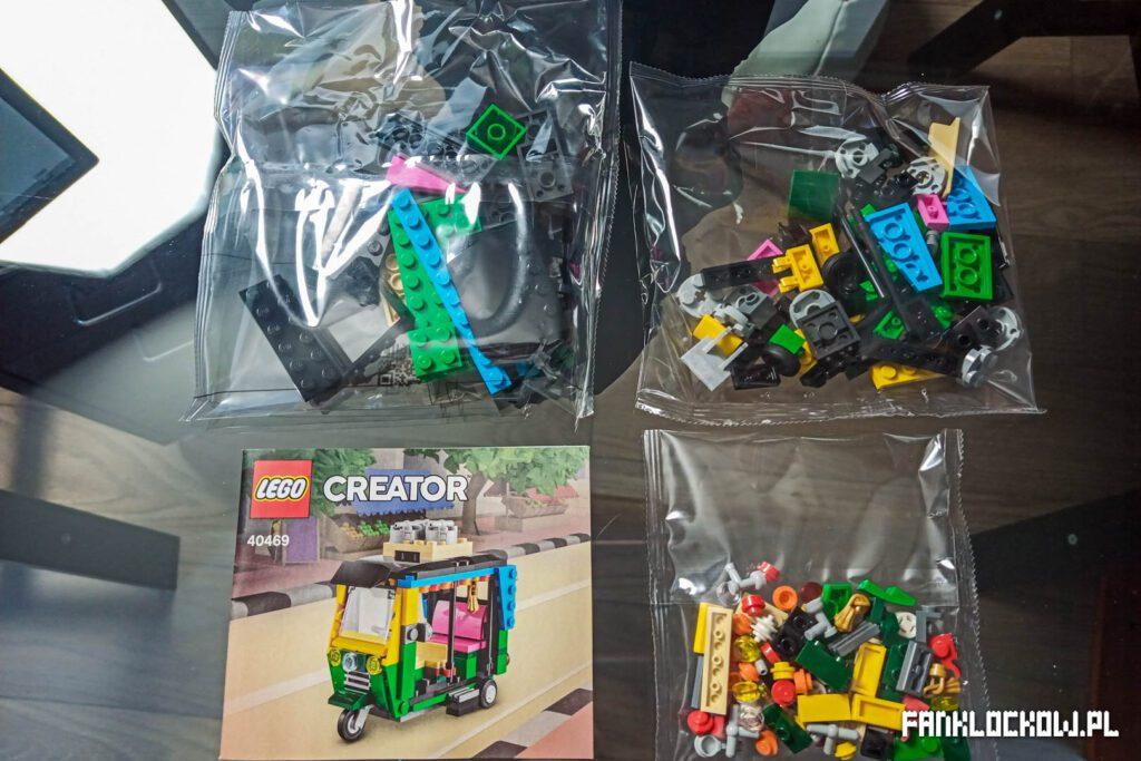 LEGO® 40469 - zawartość zestawu