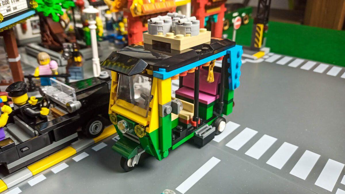 LEGO® 40469 - Tuk-tuk - recenzja