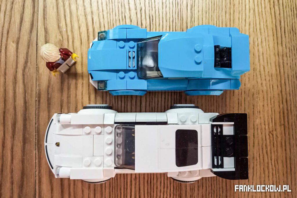 LEGO 60285 - długość modelu
