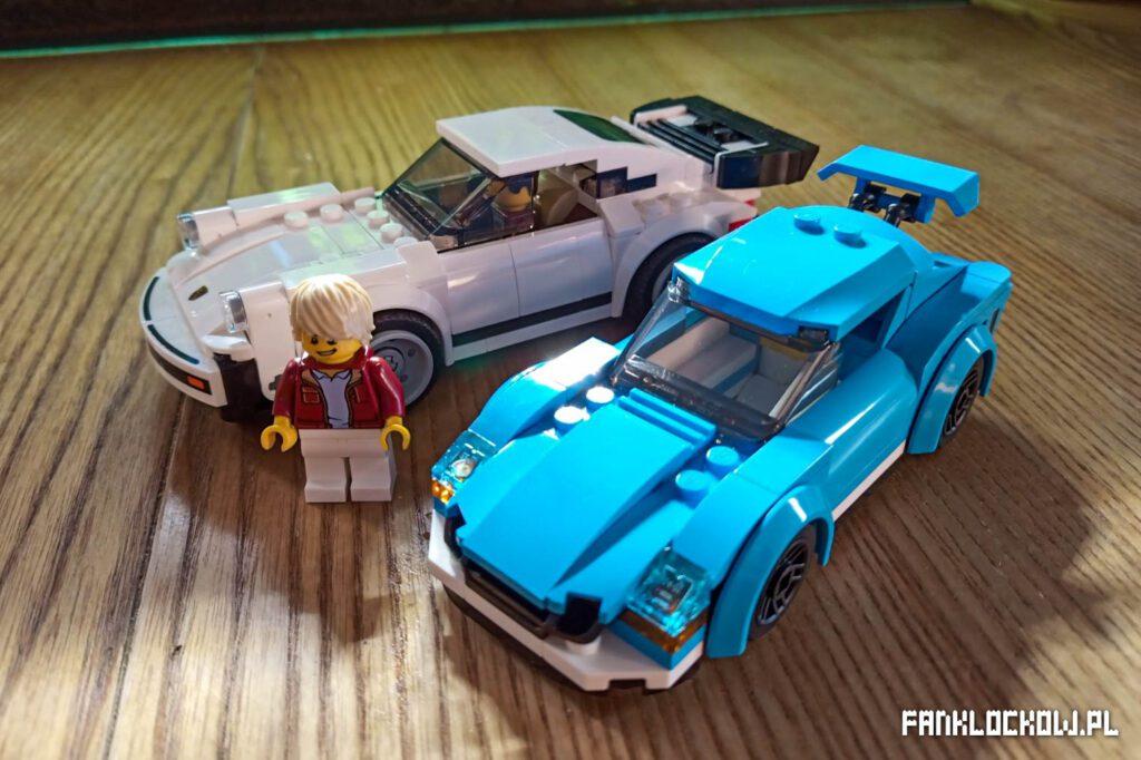 LEGO 60285 - porównanie ze Speed Champions