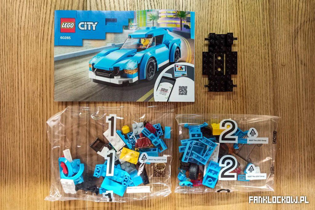 LEGO 60285 - zawartość opakowania