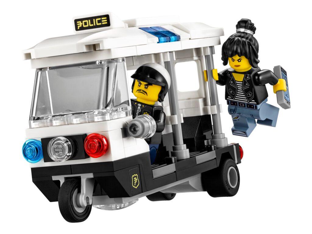 Policyjny tuk-tuk z zestawu LEGO® 70607