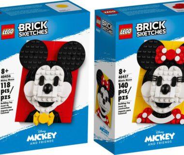 LEGO® Brick Sketches - Miki i Minnie