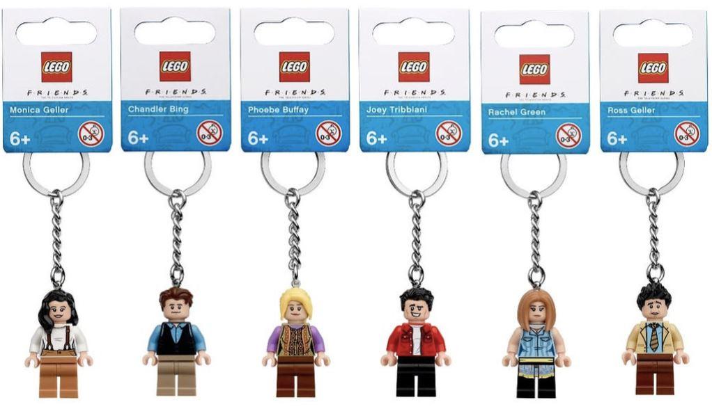 LEGO Friends - breloczki