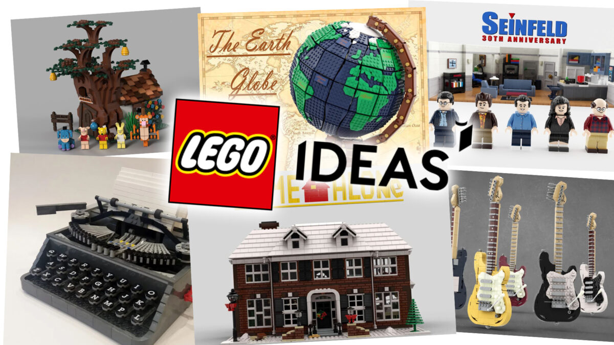 LEGO® IDEAS do końca 2021