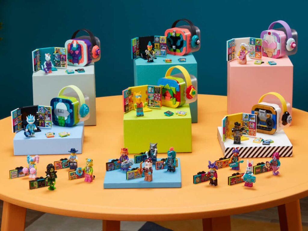 LEGO VIDIYO™ - wszystkie zestawy jak do tej pory