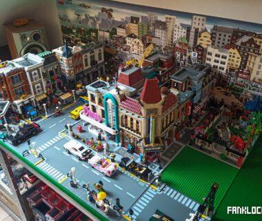 LEGO makieta - budowa stołu