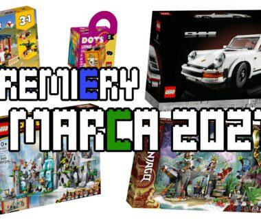Premiery LEGO marzec 2021