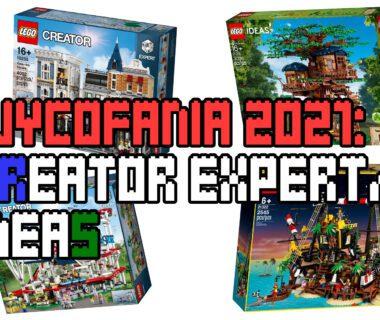 Wycofania LEGO 2021 - Expert + IDEAS