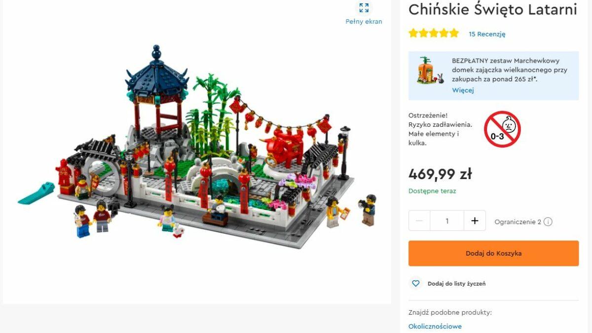 Chińskie Święto ponownie dostępne