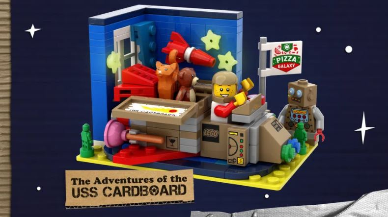 THE ADVENTURES OF THE USS CARDBOARD