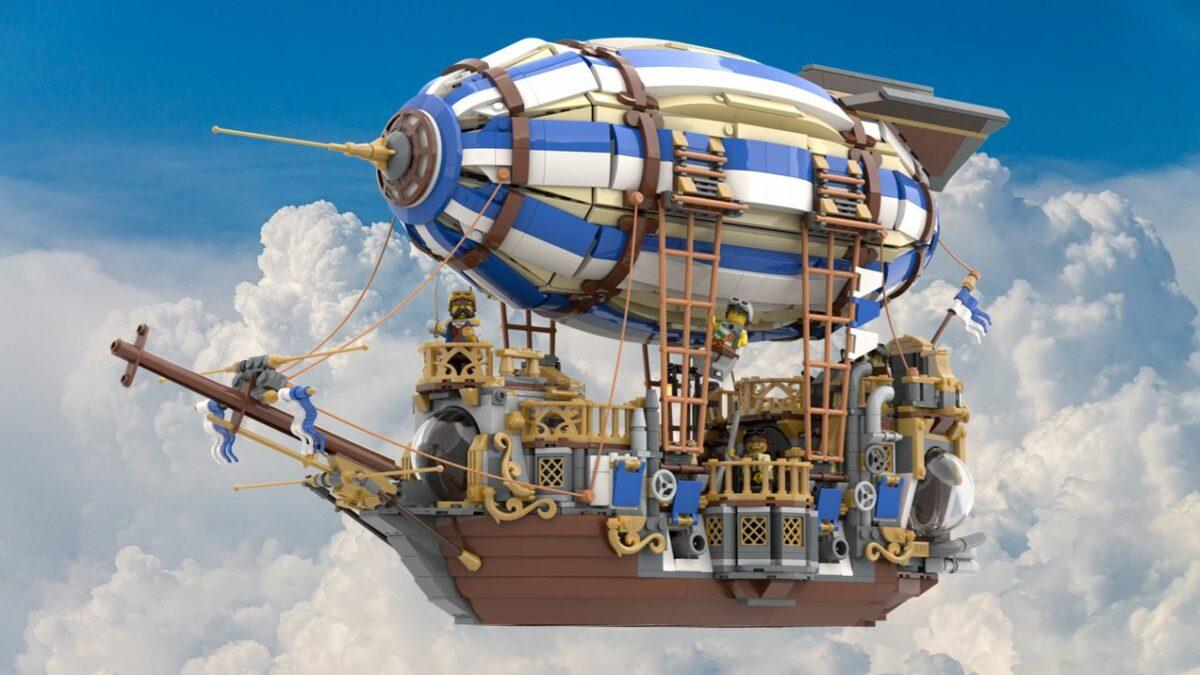 IDEAS - Steampunk Ship