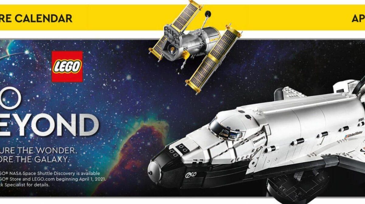 Kalendarz Lego - kwiecień 2021