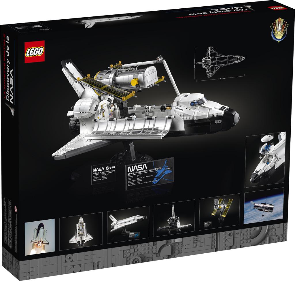 LEGO® 10283 - tył opakowania