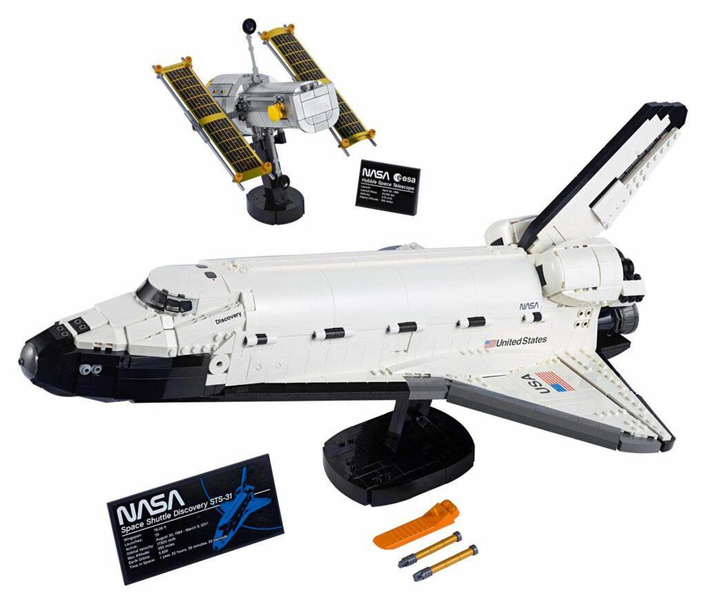 LEGO® 10283 - zawartość zestawu